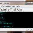Console Calculator 3.1.0 full screenshot