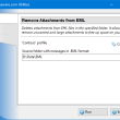 Remove Attachments from EML for Outlook 4.18 full screenshot