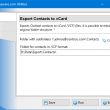 Export Contacts to vCard 4.8 full screenshot