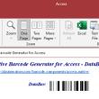 Access GS1 DataBar Barcode Generator 17.11 full screenshot
