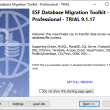 ESF Database Migration Toolkit Pro 9.2.01 full screenshot