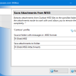 Save Attachments from MSG for Outlook 4.18 full screenshot