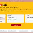 Outlook 2016 MSG to EML 3.0.1 full screenshot