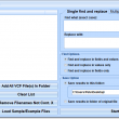 Find and Replace In Multiple VCF Files Software 7.0 full screenshot