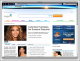 NASA Sunset Firefox Interactive Theme 1.0 full screenshot