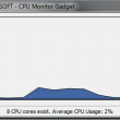 CPU Monitor Gadget 1.1 full screenshot