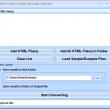 HTML Table To JSON Converter Software 7.0 full screenshot