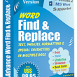 Advance Word Find and Replace 5.7.1.64 full screenshot