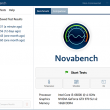 NovaBench 4.0.0 full screenshot