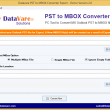 DataVare PST to MBOX Converter Expert 2.0 full screenshot