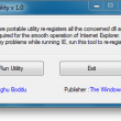 Fix IE Utility 1.0 full screenshot