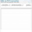 Move .eml Files to PST 8.1 full screenshot