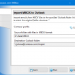 Import Messages from MBOX Files 4.10 full screenshot