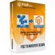 PSD to Magento Services Magento 1.8 full screenshot