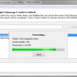 Entourage to Outlook Converter 5.0.1.0 full screenshot