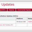 McAfee Virus Definitions V2 8561 / V3 30 full screenshot