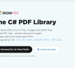 The C# PDF Library 2020.6.0 full screenshot