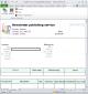 Newsletter Publishing Invoice Template 1.10 full screenshot