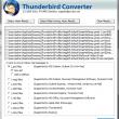 Thunderbird to Mac Mail Converter 7.4.1 full screenshot