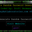 S.P.G.M. Secure Password Generation And Management 0.7 full screenshot
