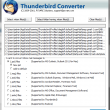 Thunderbird to Outlook Converter 7.4 full screenshot