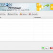 PST Merge Software 17.0 full screenshot