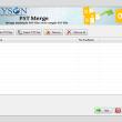 PST Merge Software 17.0 full screenshot