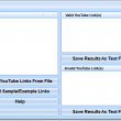 Check If Multiple YouTube Links Are Valid Software 7.0 full screenshot