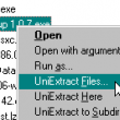 X-UniExtract 1.6.1 [rev5] full screenshot