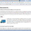 SSuite Fandango Desktop Editor 2.8 full screenshot