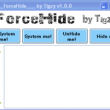 ForceHide 1.4.0.0 full screenshot