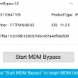 MDM Bypass iActivate Sofware 6 full screenshot