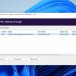 NoVirusThanks MAC Address Changer 1.0 full screenshot