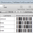 FileMaker Pro Barcode Custom Functions 2015 full screenshot