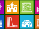 Icons-Land Metro Buildings Icon Set 1.0 full screenshot