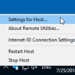 Remote Utilities Host 6.10.5.0 full screenshot