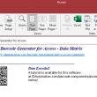 Access Data Matrix Barcode Generator 21.07 full screenshot