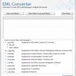 Converting EML Inbox to Outlook 7.3.8 full screenshot