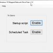 Windows 10 Mapped Network Drive Fixer 1.0 full screenshot
