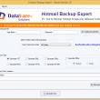 DataVare Hotmail Backup Expert 1.0 full screenshot