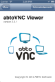 abtoVNC Viewer SDK for iOS 2.1.2 full screenshot