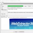 WebExtractor360 1.2 full screenshot
