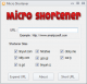 Micro Shortener 1.0.0.1 full screenshot