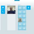 Skype for Win8 UI  full screenshot