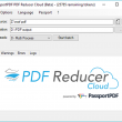 PDF Reducer Cloud 1.0 full screenshot