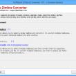 Zimbra Mailboxes Migration 7.5.1 full screenshot