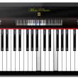 Mini Piano Windows 8  full screenshot