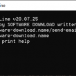 Send Email From Command Line 20.07.25 full screenshot