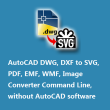 VeryUtils DWG to SVG Converter Command Line 2.3 full screenshot