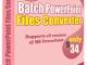 Batch PowerPoint File Converter 4.6.2.6 full screenshot
